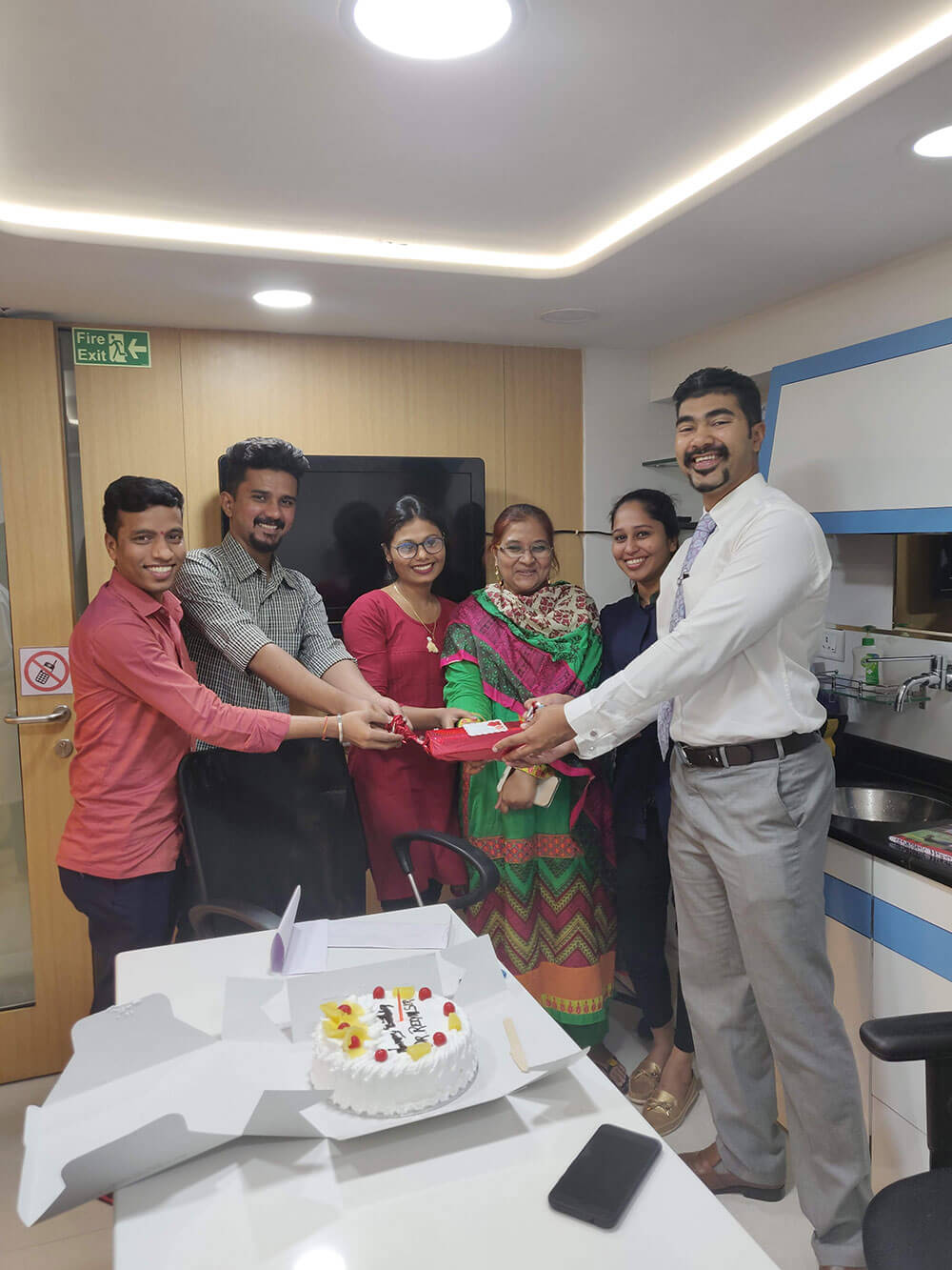 Celebration with our work family - TDMC